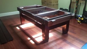 Pool and billiard table set ups and installations in Visalia California
